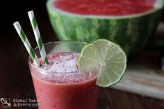 Recipe: Coconut Watermelon Refresher  (I am happy to find that the Coconut is NUT and is allowed on the Wild Rose Cleanse)