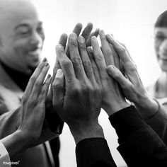 Team making a high five - Buy this stock photo and explore similar images at Adobe Stock High Five, Start Up Business, People Photography, Model Release, Teamwork, Summer Days, Royalty Free Images, Illustrations Posters, Cool Photos