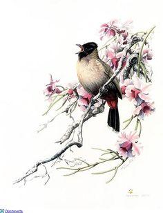 Китайская живопись. Zeng Xiao Lian
