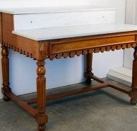 French pastry table. French Pastries, Vanity Bench, French Vintage, Living Room Furniture, Entryway Tables, Food, Home Decor, Hall Furniture, Decoration Home