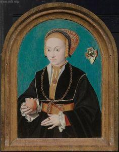Margarethe von Aich - Barthel Bruyn the Elder, 1540 German