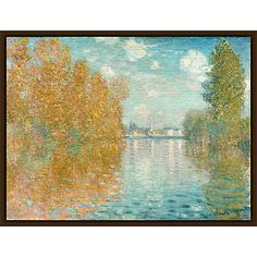 Buy The Courtauld Gallery, Claude Monet - Autumn effect at Argenteuil 1873 Print Online at johnlewis.com