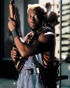 Simon Phoenix is the main antagonist of the 1993 sci-fi action film Demolition Man. He was portrayed by Wesley Snipes. Phoenix Costume, New Jack City, Wesley Snipes, Demolition Man, Gta San Andreas, Sci Fi Films, Mel Gibson, The Expendables, Action Film