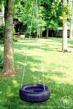 make a tire swing