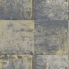 Blue metal plate wallpaper by Holden Decor - 651642