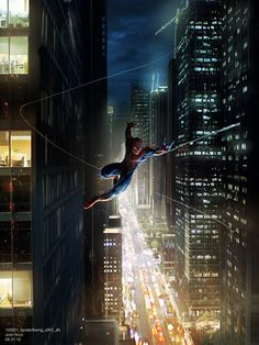 In preparation for 2014 The Amazing Spider-Man 2 movie, I give readers concept art from the first movie-The Amazing Spider-Man! (some of ...
