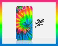 TIE DYE iphone 5c case, rainbow iphone case, tie dye case, hippy tie dye, colourful iphone 5c cover, 90s phone case, cool pattern, geometric