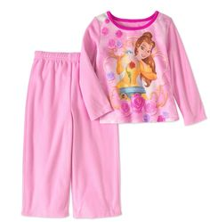 Baby Infant Girls Disney Princess Belle 2pc Pajamas Set Sz 12 Months BNWT Comfy! #Disney #TwoPiece