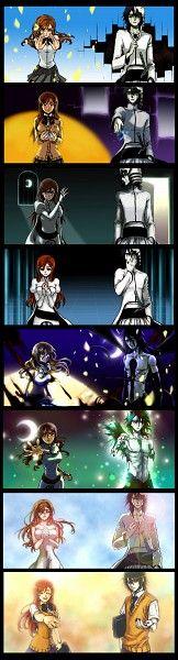 Tags: Anime, BLEACH, Inoue Orihime, Ulquiorra Schiffer, Espada