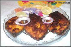 Shaain's Cooknotes: Masala Fish Fry