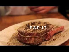 How to Make a Porcini Rub - Video instruction by Mario Batali Cooking Videos, Cooking Tips, Cooking Recipes, The Chew Recipes, Meat Recipes, I Love Food, Good Food, Yummy Food, Food Tips