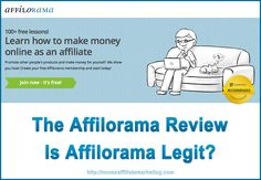 The Affilorama Review - Is Affilorama Legit or not? Read about my own experience! http://momsaffiliatemarketing.com/the-affilorama-review-is-affilorama-legit/