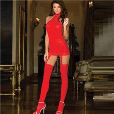 Kırmızı jartiyer takımı  Transparan yapıdaki jartiyerli takım, jartiyer askılı gecelik, tanga ve bir çift çorabı ile tam takım olarak gönderilir.