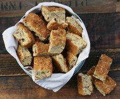 bran and muesli buttermilk rusks with seeds