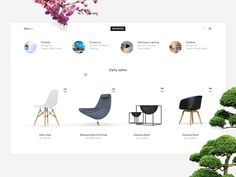 Concept for Monoqi — The online shop for handpicked design ✌️ mxmc.io