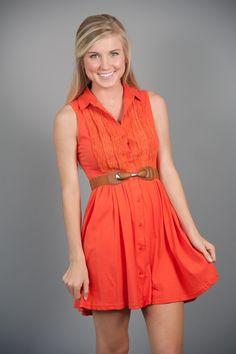 Good For You Dress- Orange
