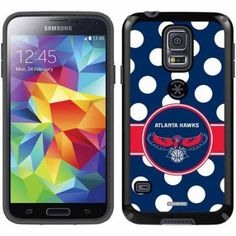 Atlanta Hawks Polka Dots Design on Samsung Galaxy S5 CandyShell Case by Speck