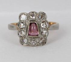 Stunning Victorian 0.7ct Rose Cut Diamonds