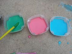 Let the driveway be your canvas with this homemade sidewalk paint!