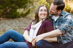 San Francisco Presidio Evergreen Mini Session with Snuggly Couple - Cristin More Photography