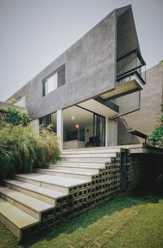 Ideas for exterior building hotel Building Stairs, Building Facade, Building A House, Stairs Architecture, Architecture Details, Interior Architecture, Landscape Architecture, Landscape Design, Facade Design