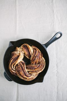 Chocolate Swirl Bread with whole grain flours, dark chocolate, and cinnamon coconut sugar.