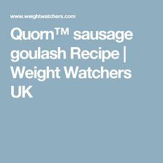 Quorn™ sausage goulash Recipe | Weight Watchers UK