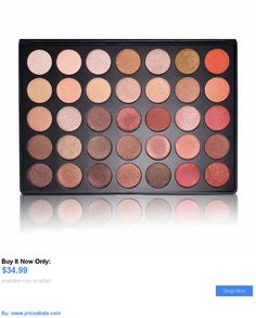 Beauty Makeup: Morphe 35Os 35 Color Nature Glow Shimmer Eyeshadow Palette! BUY IT NOW ONLY: $34.99 #priceabateBeautyMakeup OR #priceabate