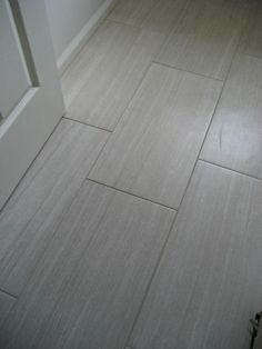 Beautiful Gray And White Bathroom Remodel With 12x24 Porcelain Tile Bathroom Flooringkitchen