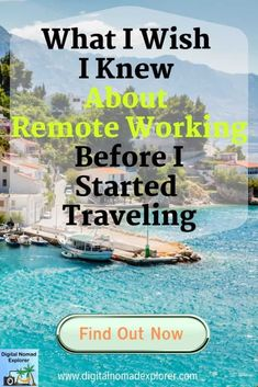 Remote working can already be difficult if you don't have all the right equipment or know how to get connected to WiFi. Add in travel and things can get even more complex! Here are some of the key… Travel Careers, Travel Jobs, Learning Money, Digital Jobs, Online Business Opportunities, Road Trip Adventure, It's Going Down, I Wish I Knew, Travel Gadgets