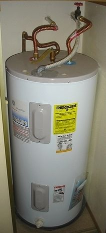 When Your Hot Water Gets Tanked Removing An Old Electric Water Heater Electric Water Heater Water Heater Heater