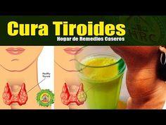 Cura la Glándula Tiroides Lenta o Hipotiroidismo por Siempre - 5 Remedios Caseros Fáciles y Rápido - YouTube Holistic Medicine, Natural Medicine, Thyroid Diet, Natural Cures, Home Remedies, Diabetes, Smoothies, Detox, The Cure