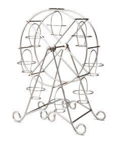 Another great find on #zulily! Godinger Silver Ferris Wheel Cupcake Holder by Godinger #zulilyfinds