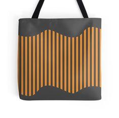 Etoide Jingga Orange Black Stripes