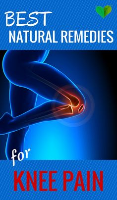 get rid of knee pain...