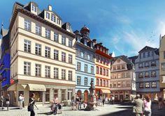 Frankfurter Altstadt: Treffpunkt: Hühnermarkt