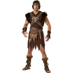 Barbarian Man Premier Adult Costume from BuyCostumes.com #Barbarian #Halloween