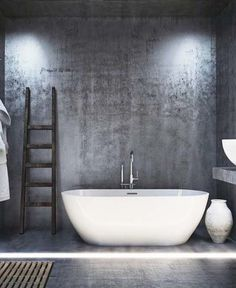 Own your morning // bathroom // city suites // home decor // interior // wall art // urban living // city life //