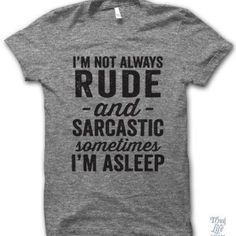 20 Shirts That Say What You're Thinking