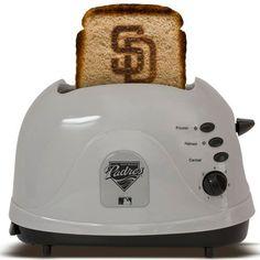 San Diego Padres MLB ProToast Toaster, Brown