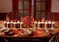 Thanksgiving Table Setting Ideas - Bing Images