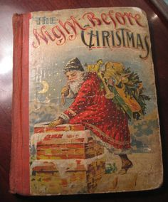 Antique Book of The Night Before Christmas by SugarLMtnAntqs