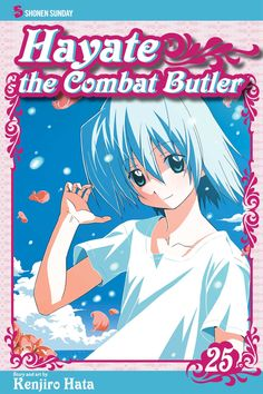 Hayate 25 • Hayate the Combat Butler by Kenjiro Hata (Hayate no Gotoku) Manga Covers Viz English Version Manga Covers, Butler, English, Anime, Art, Art Background, Kunst, Cartoon Movies, English Language