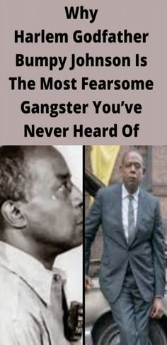 """For more than 30 years, Bumpy Johnson ruled over Harlem as one of New York City's most revered — and feared — crime bosses. His wife called him the """"Harlem Godfather,"""" and for good reason. Bumpy Johnson, Funny Fails, Funny Memes, Level Up, The Godfather, Big Game, Hollywood Stars, Funny Comics, The Voice"""
