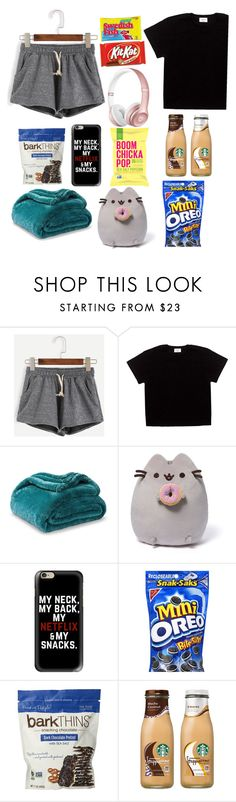 """Sick day essentials"" by fashionangel8908 ❤ liked on Polyvore featuring Beats by Dr. Dre, Gund and Casetify"