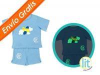 Baby Boy Set Sky #pijamas #bebes #niños #lit #babies #kids #night #clothes #brillan #noche #pants #jersey #sleepwear #enviogratis