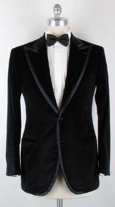 New Cesare Attolini Black Tuxedo 40/50 - Appealing Apparel [Sale Price: $2,299.00]