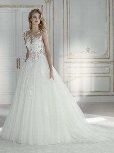 d431e1a30 45 vestidos de novia corte princesa 2019. ¡Los diseños con los que toda  mujer sueña para su boda!