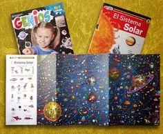 Ilustrador Alexiev Gandman: Buscando en el Sistema Solar - Revista Genios 889