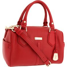 Cole Haan Village Small Jade Bag Lantern Red...Love the color Red